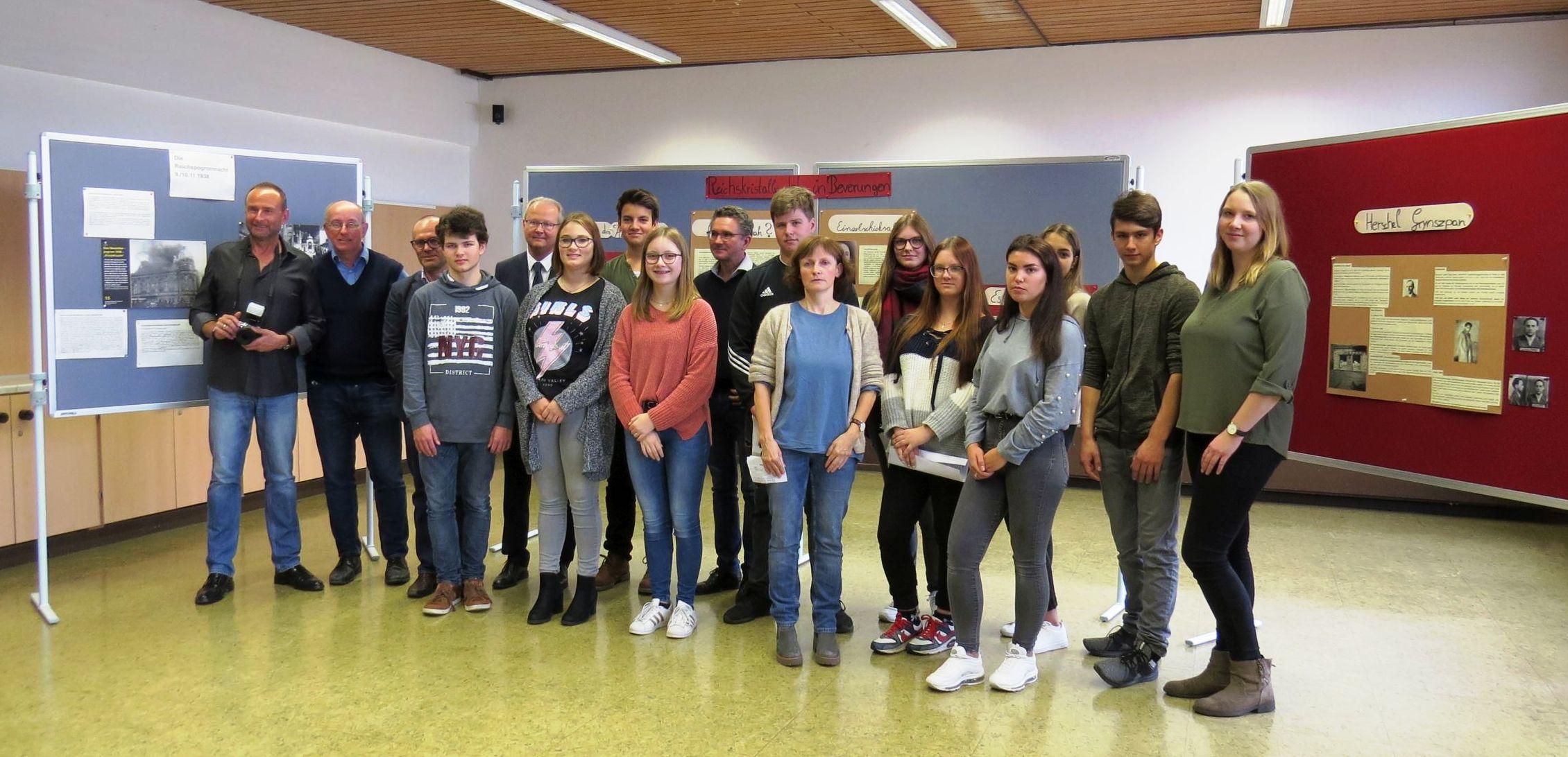 80 Jahre Reichsprogramnacht – Gemeinsame Veranstaltung von der Sekundarschule und dem Gymnasium